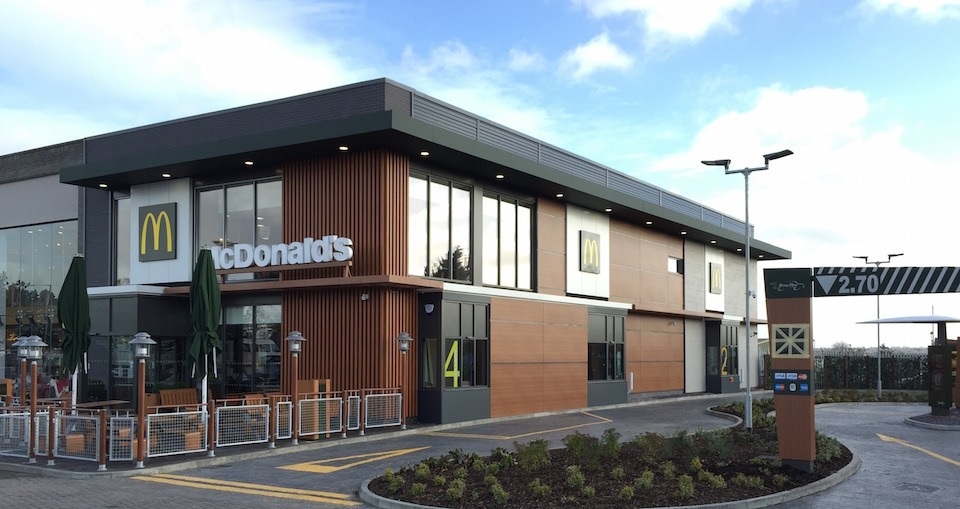 NEW FORMAT MCDONALDS OPENS RGP Architects